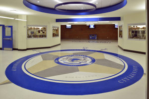 terrazzo flooring design paducah middle school