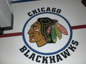 Chicago Blackhawks Terrazzo