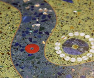 terrazzo flooring design nicholas conservatory and gardens rockford illinois