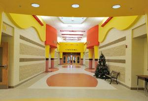 terrazzo flooring design crossroads elementary school