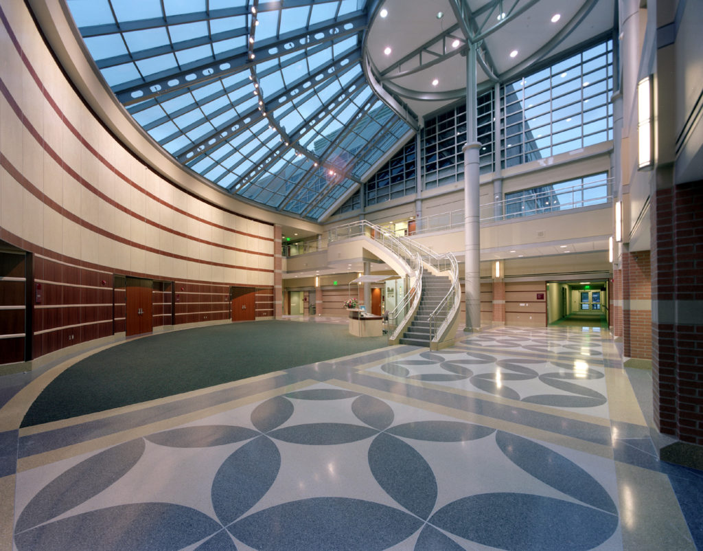 terrazzo flooring design macomb michigan intermediate school