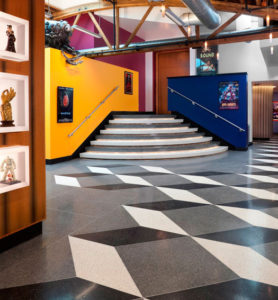 terrazzo flooring design kinowerks ravenswood chicago illinois