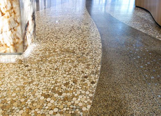 terrazzo flooring design federal reserve bank chicago detroit michigan