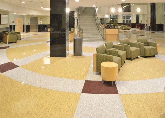 terrazzo flooring design southern illinois university