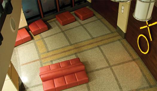 terrazzo flooring design university of wisconsin