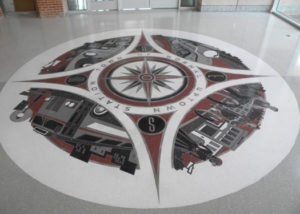 terrazzo flooring design uptown station normal illinois transportation