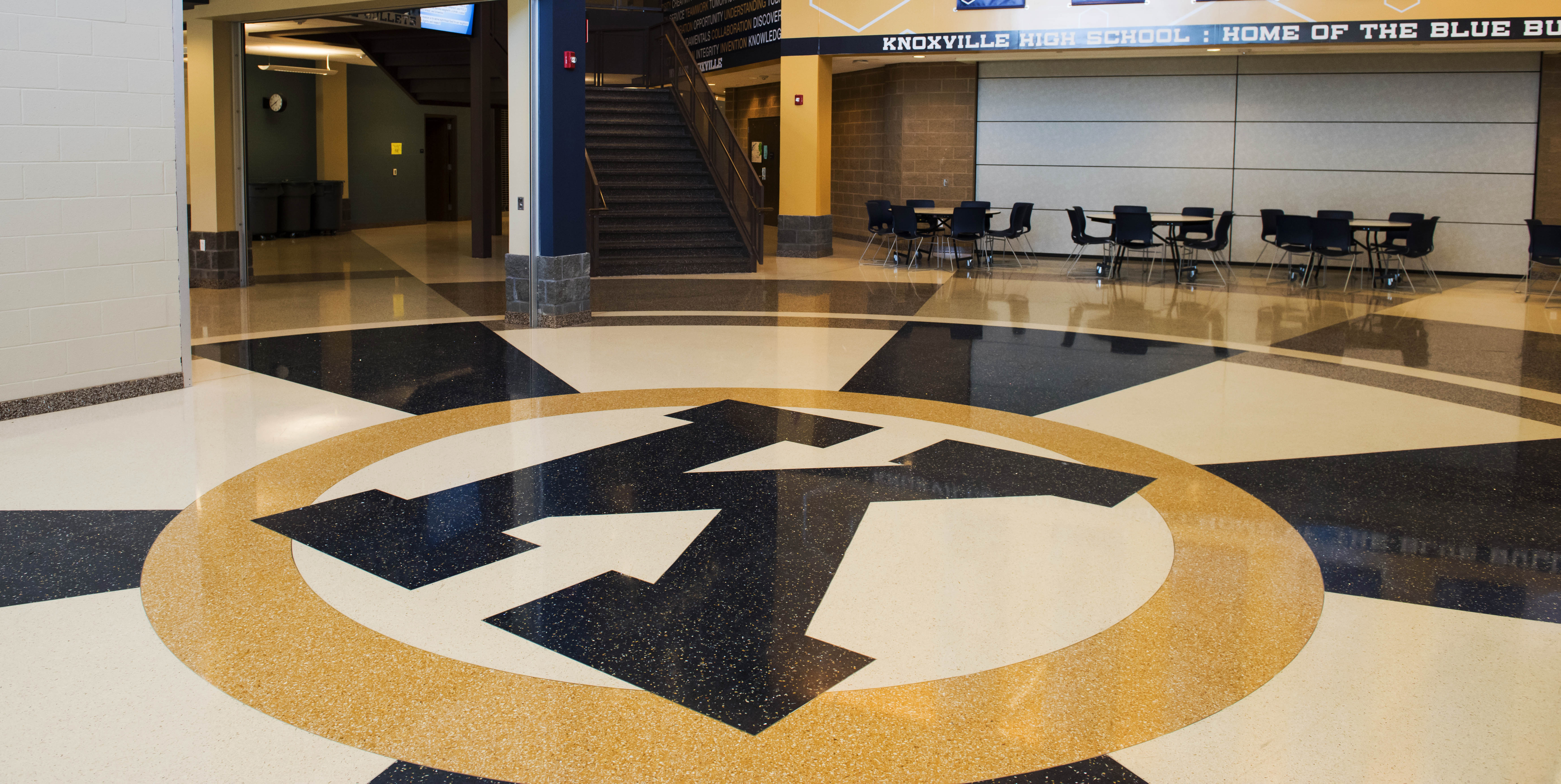 Terrazzo Shows What Buildings Stand For