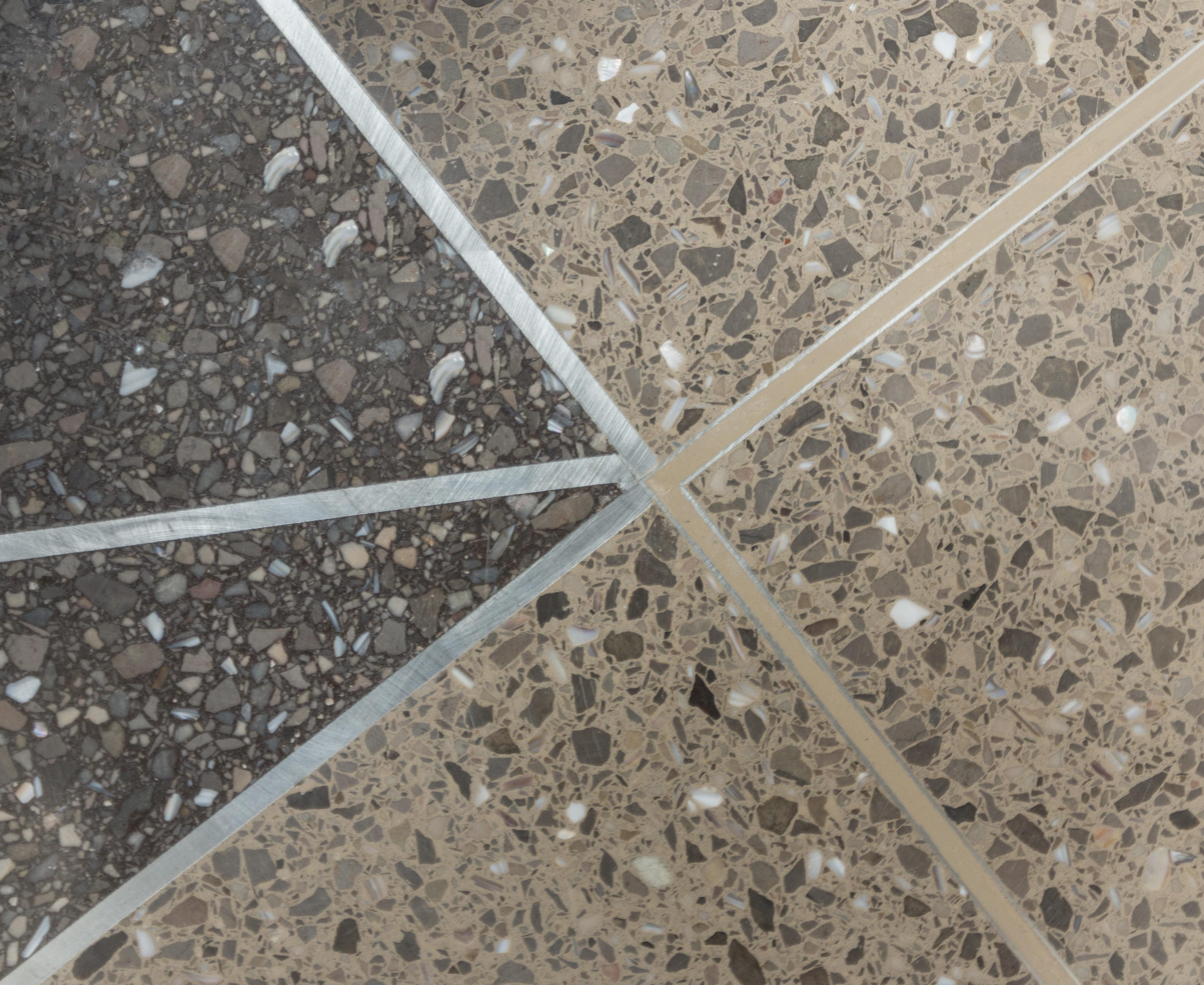terrazzo flooring design joliet central high school