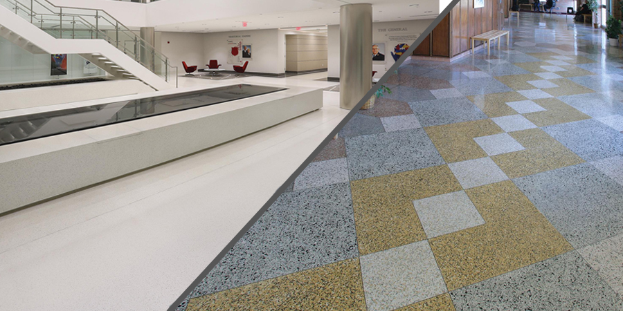 Epoxy Terrazzo or Cement Terrazzo: What's the difference? - NCTA