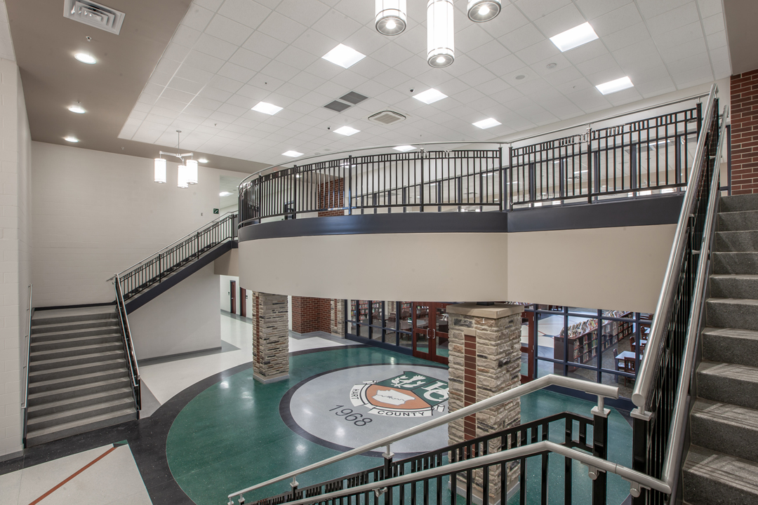 Terrazzo Turns a High School into a Signature Building for a Community