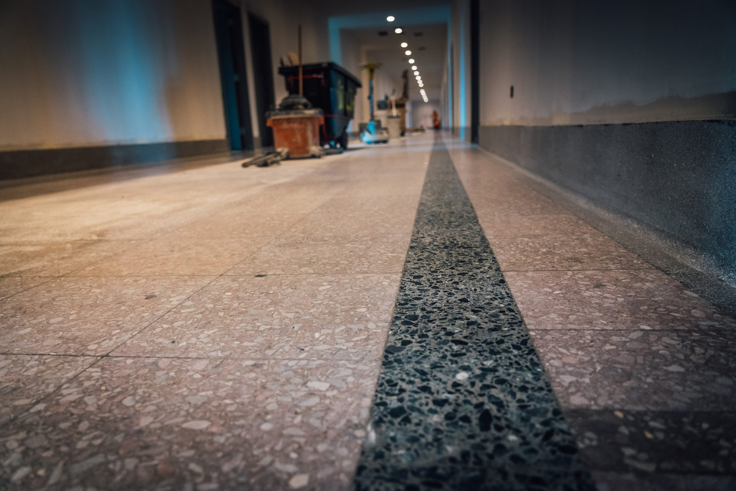 Terrazzo Brings Life to Hospital Restoration