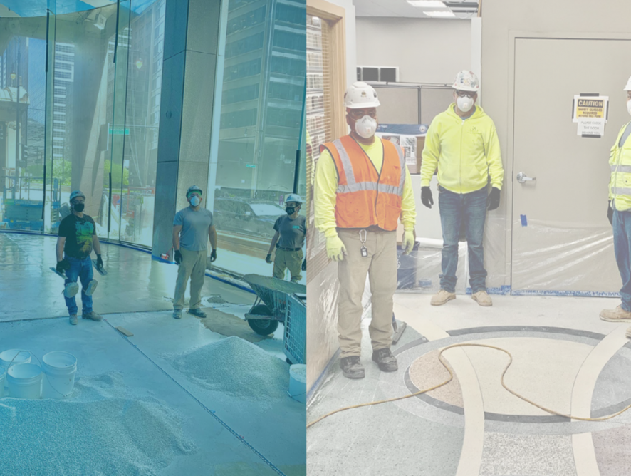 We've never stopped: Terrazzo Strong!