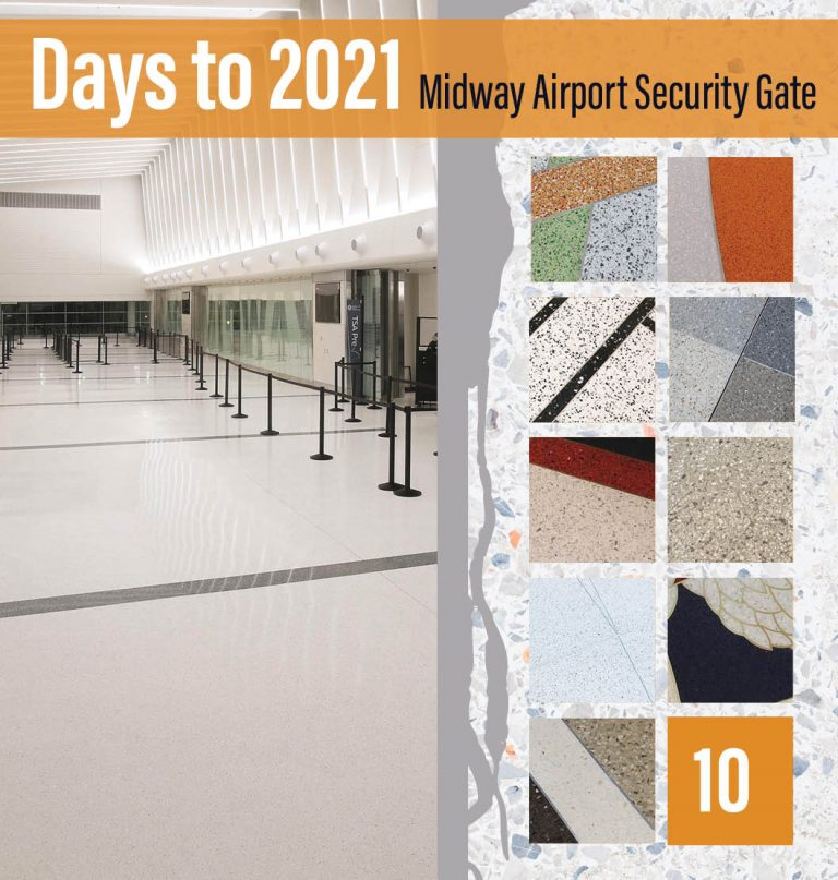Countdown to 2021: Top 10 Terrazzo Projects